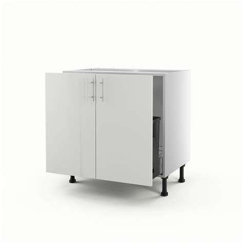 meuble evier cuisine leroy merlin meuble de cuisine sous évier blanc 2 portes h 70 x l