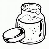 Coloring Pages Peanut Template Jar Colouring Popular Clip Library Clipart sketch template