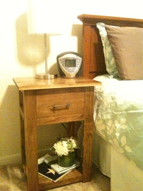 Simple Nightstand by White Simple Nightstands Diy Projects