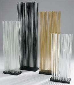 Paravent Interieur Pas Cher : paravent sticks l 60 x h 150 cm int rieur ext rieur noir extremis ~ Teatrodelosmanantiales.com Idées de Décoration