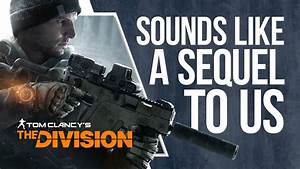 Is something BIG happening with The Division? - YouTube