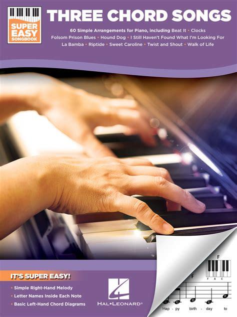chord songs super easy songbook sheet