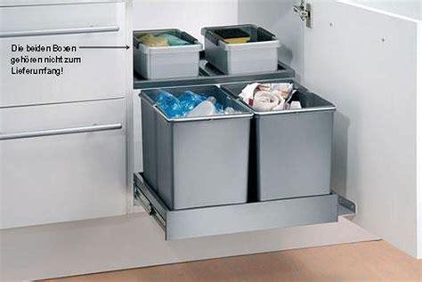 Mülleimer Küche Ausziehbar  Hausumbau Planen