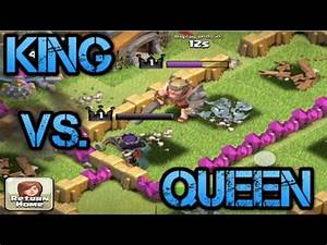 Clash of Clans- Barbarian King defends Archer Queen and 13 ...