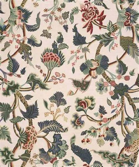buy bennison crewelwork fabric  alexander interiors