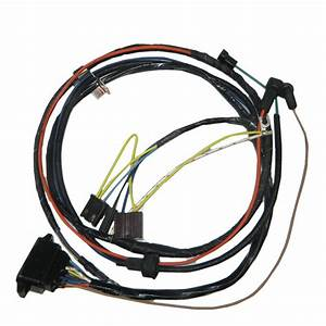 1967 Chevelle El Camino Engine Wiring Harness V8 396 With