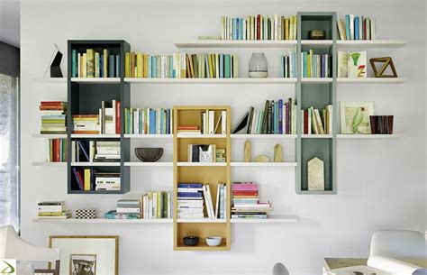 librerie sospese ikea raffaello bookcase arredo design