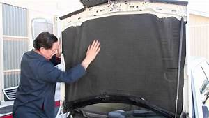 Mercedes 190e 190d Hood Pad Installation Kit W