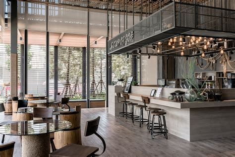 Welcome to the coffee factory & cafe!! Cafe Counter Bar   Coffee Shop Design Layout Factory