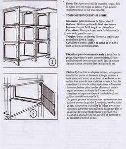 Schema Pose Plaque Fibro Ciment : notice montage clapier la lapini re ~ Dailycaller-alerts.com Idées de Décoration