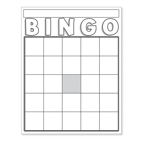 blank bingo cards white board card