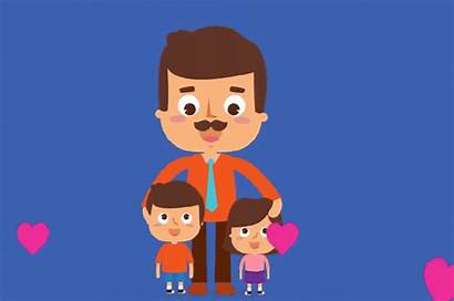 Fathers Father Happy Quotes Animated Clipart Loves