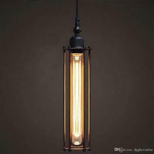 Led strips modern pendant lamps iron vintage lightsindoor