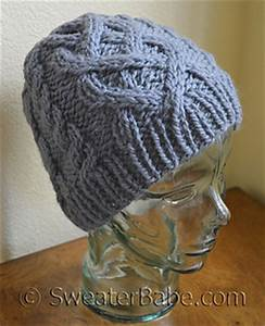 00 Gauge Size Chart Ravelry 183 One Ball Chunky Cabled Hat Pattern By