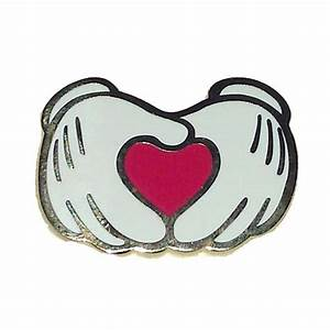 Your WDW Store - Disney Mickey Pin - Mickey Mouse Hands ...