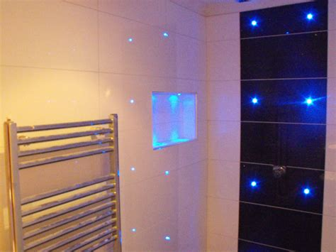 Shower In The Bathroom by Kabenza Tiling