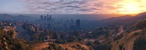 Gaming: GTA V in Panoramic Views in 4k
