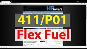 How To Enable Flex Fuel On A 411  P01 Pcm Using Hp Tuners