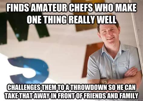 Bobby Meme - 7 answers who is the best television chef guy fieri alton brown gordon ramsay mario batali