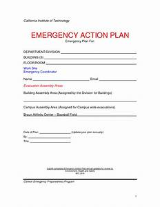 emergency action plan template e commercewordpress With emergency plan template for businesses
