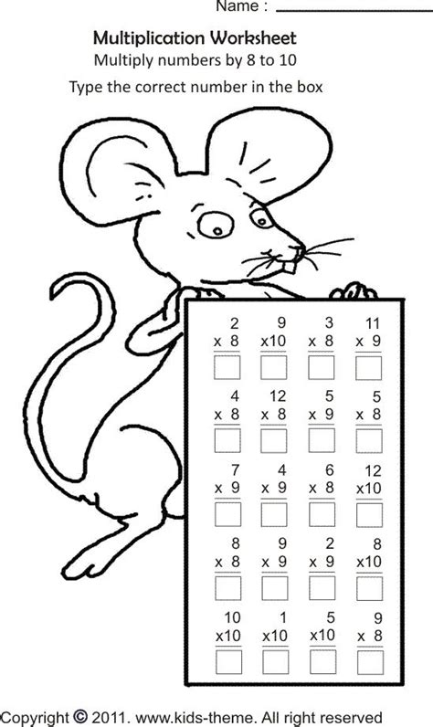 math coloring pages  grade kids  grade   grade   elementary  primary school