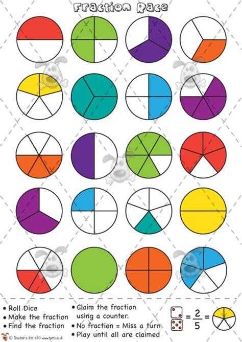 teachers pet fractions race counters premium
