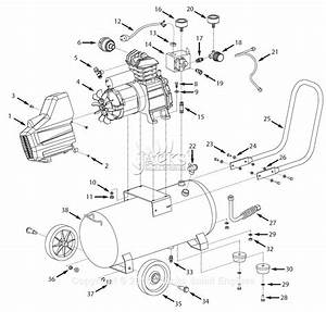 Campbell Hausfeld Hl4215 Parts Diagram For Air
