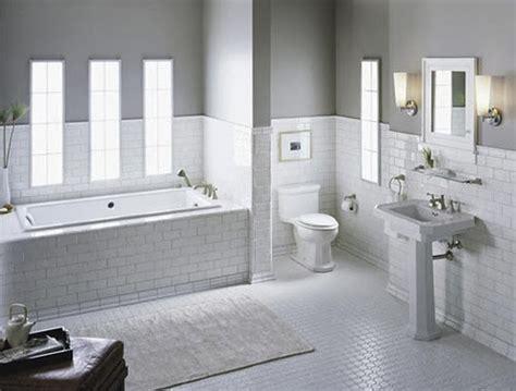 white subway tile bathroom ideas  pictures