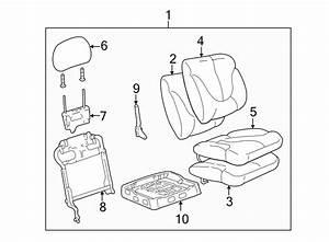 Gmc Sierra 3500 Headrest  60  40 Folding  Passenger  Cloth