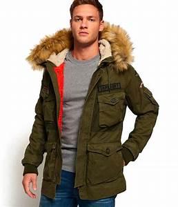 Manteau Homme Avec Fourrure : parka avec capuche en fourrure manteau homme coloris ~ Melissatoandfro.com Idées de Décoration