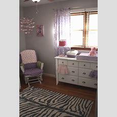 Purple And Gray Girly Nursery!  Project Nursery