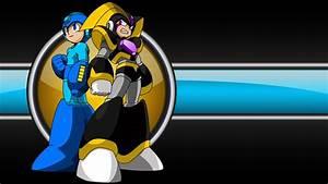 Mega Man Bass Hd Desktop Wallpaper Widescreen High