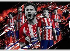 Atlético Madrid 201718 Nike Home and Away Kits – FOOTBALL