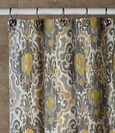 J Queen New York Valdosta Shower Curtain and Hooks #