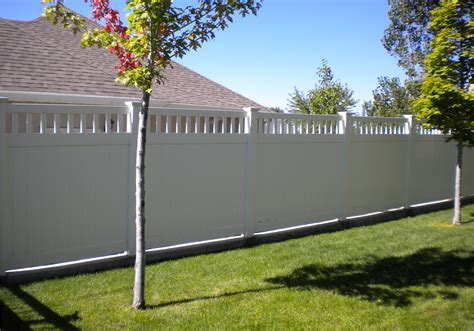 white wood fence panels white vinyl privacy fence panel outdoor decorations