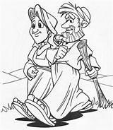 Coloring Abraham Wife Husband Infantil Atividades Template Sarah Sketch Ebd sketch template