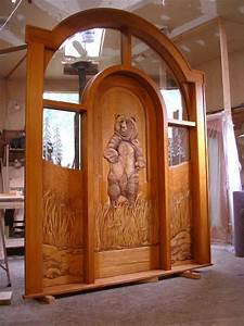 Our, Wood, Carved, Entry, Doors, -, Rustic, -, Entry, -, Boise