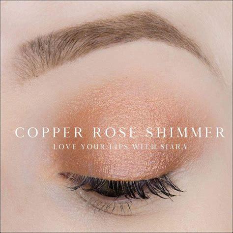 copper rose shimmer shadowsense rose shimmer senegence makeup senegence shadowsense