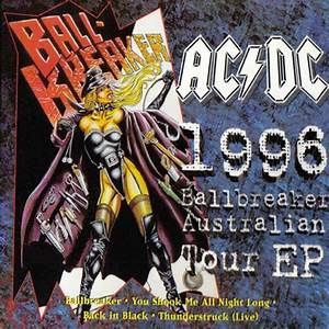 AC/DC 1996 Ballbreaker Australian Tour EP reviews