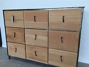 Meuble En Fer : meuble en fer forg et bois exotique bca mat iaux anciens ~ Melissatoandfro.com Idées de Décoration