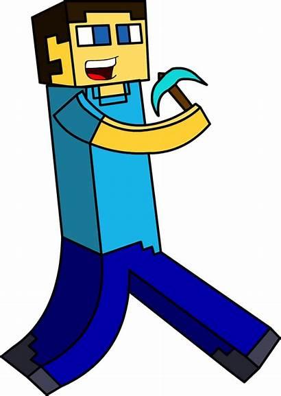 Clipart Cartoon Gold Miner Proud Job Steve
