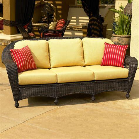 northcape international charleston wicker sofa olinde s