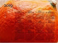 Calendario Fotografico da Stampare del 2019
