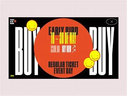 Pop Culture Tickets Animation Zhenya Dribbble Rynzhuk