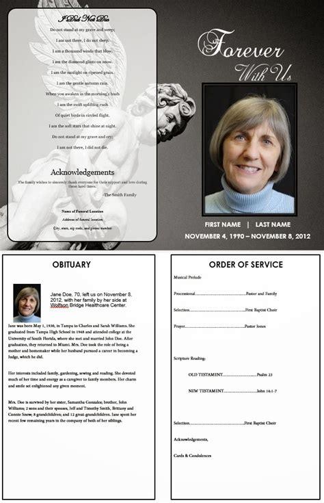 funeral memorial program blog