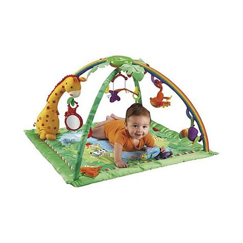 fisher price rainforest melodies lights deluxe alami baby activity gyms fisher price rainforest