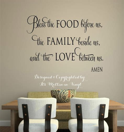 stickers phrase cuisine christian wall stickers quotes vinyl decal home