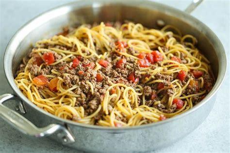 One-Pot Spaghetti Taco Recipe
