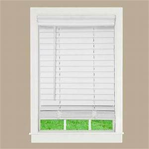 Faux Wood Blinds - Blinds - The Home Depot