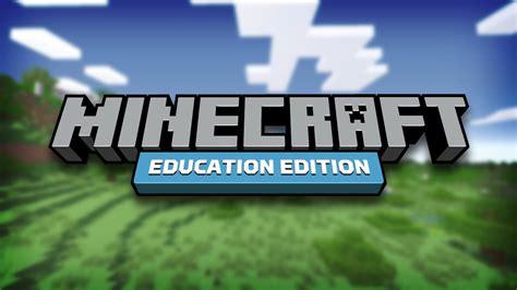 minecraft education edition youtube